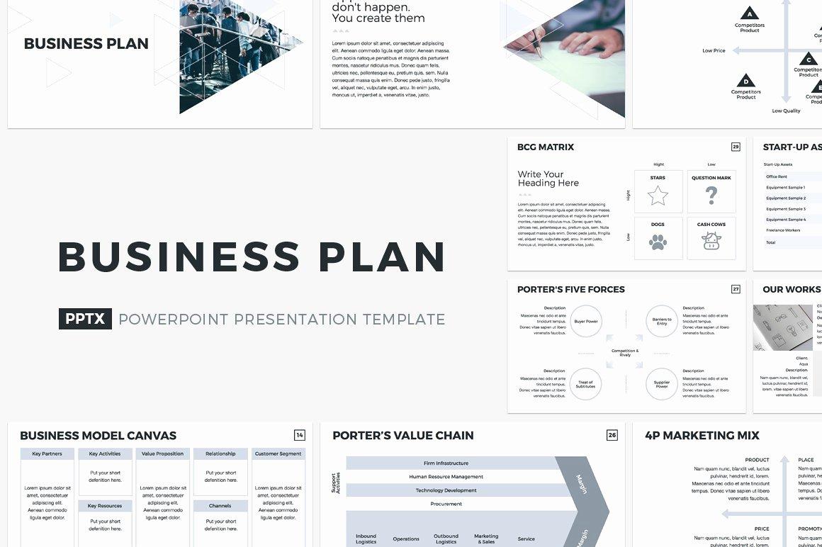 Business Plan Powerpoint Template Beautiful Business Plan Powerpoint Template Powerpoint Templates