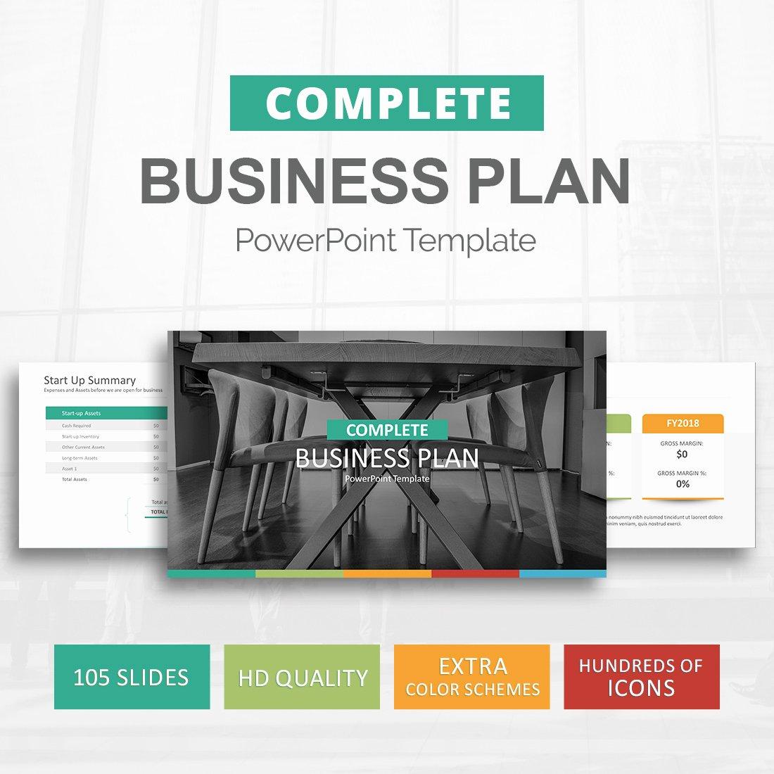 Business Plan Powerpoint Template Best Of Business Plan Template for Powerpoint Slideson