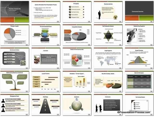 Business Plan Powerpoint Template Lovely Business Success Key Powerpoint Template