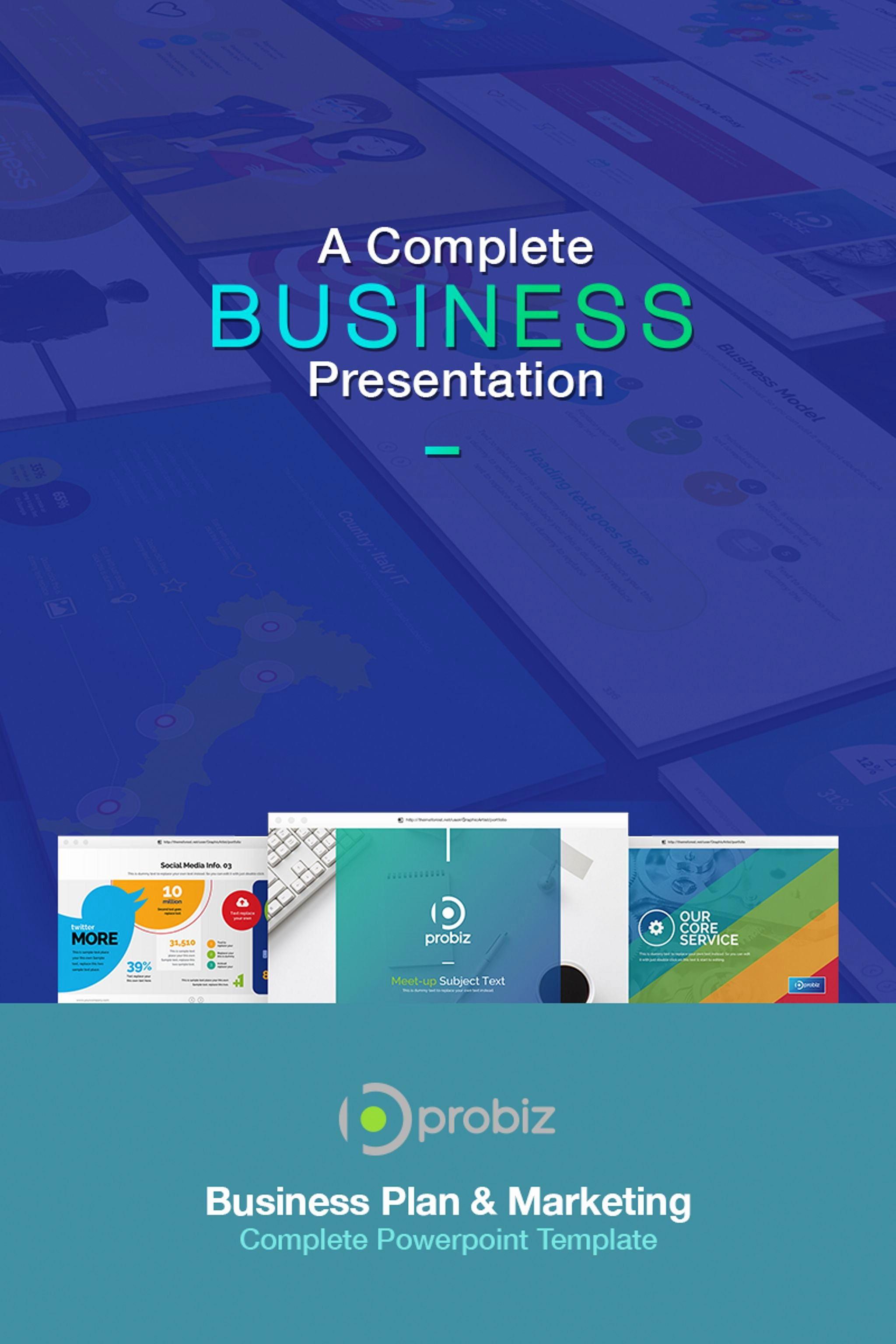 Business Plan Presentation Template Lovely Business Plan & Marketing Powerpoint Template