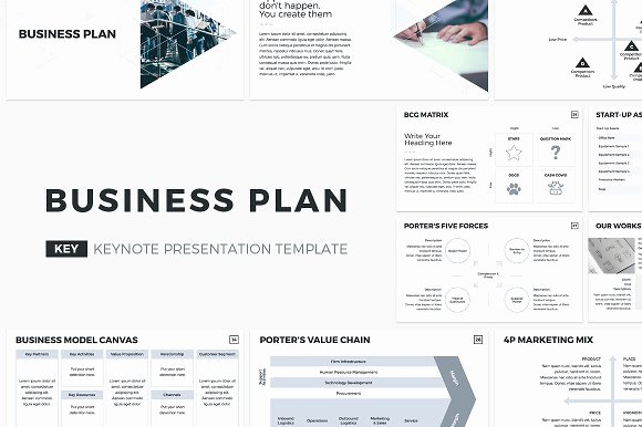 Business Plan Presentation Template Lovely Business Plan Keynote Template Presentation Templates