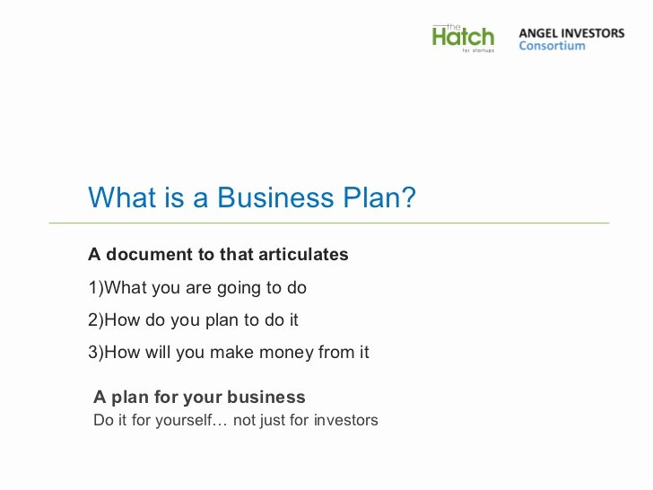 Business Plan Presentation Template Luxury Business Plan Presentation Template