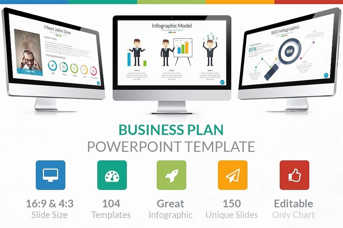 Business Plan Template Powerpoint Awesome 60 Beautiful Premium Powerpoint Presentation Templates