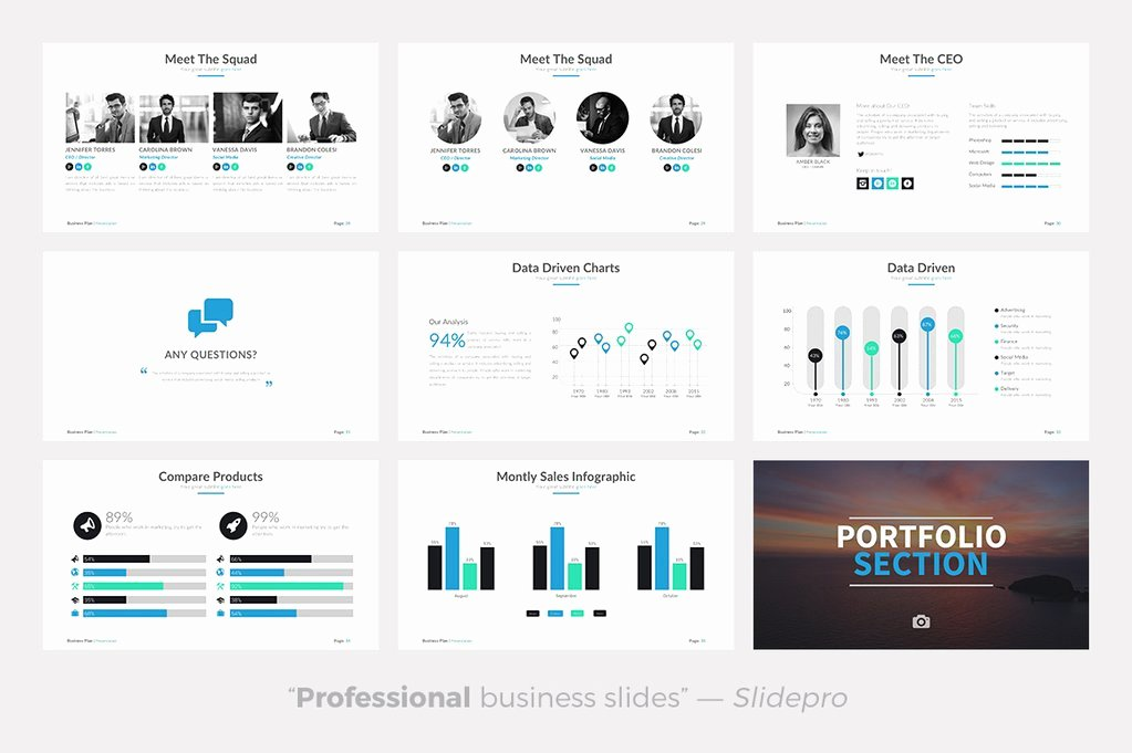 Business Plan Template Powerpoint Beautiful Business Plan Powerpoint Template Presentations On