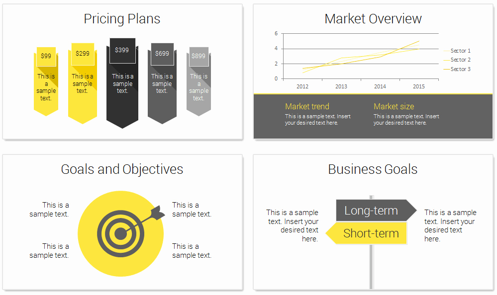 Business Plan Template Powerpoint Beautiful Modern Business Plan Powerpoint Template