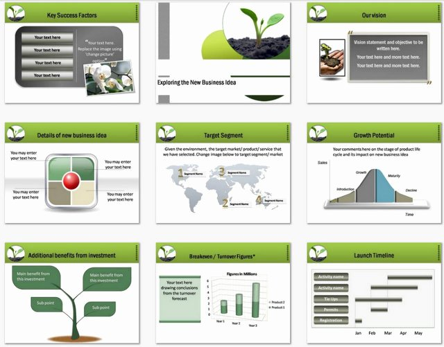 Business Plan Template Powerpoint Luxury Powerpoint Business Plan Growth Template
