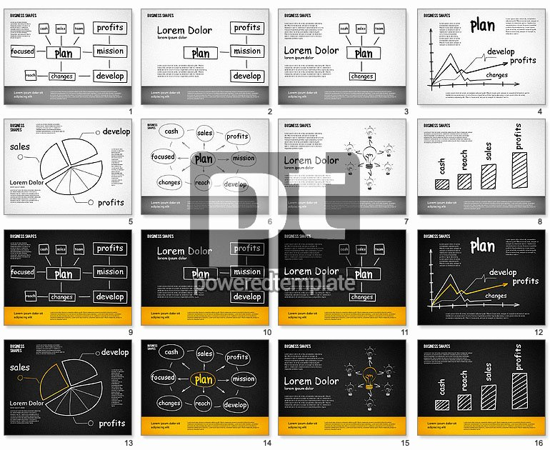 Business Plan Template Powerpoint Unique Business Plan Template for Powerpoint Presentations