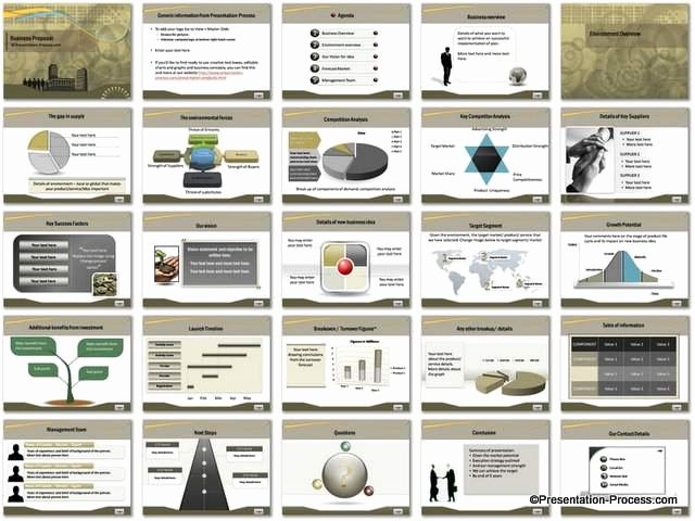Business Proposal Powerpoint Template Beautiful Business Proposal Powerpoint Template Set