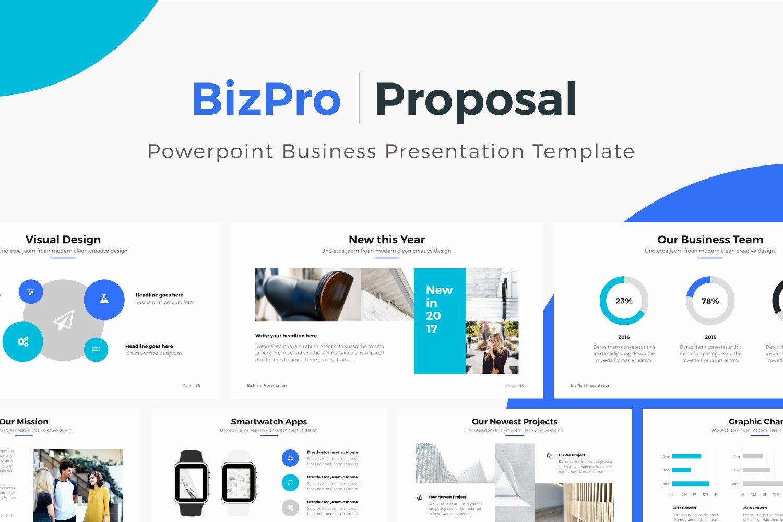 Business Proposal Powerpoint Template Elegant Bizpro