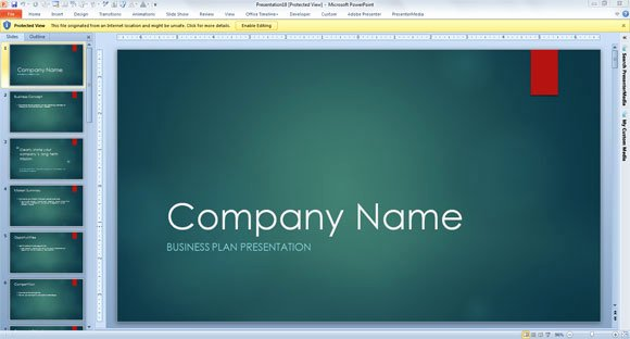 Business Proposal Powerpoint Template Fresh Business Consulting Template for Powerpoint 2013