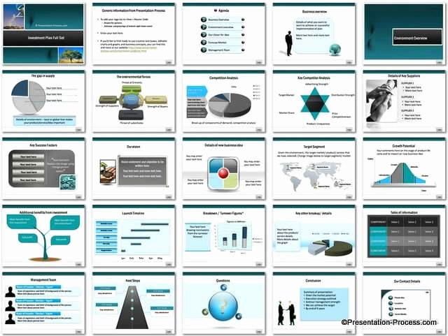 Business Proposal Powerpoint Template Inspirational Investment Plan Powerpoint Template