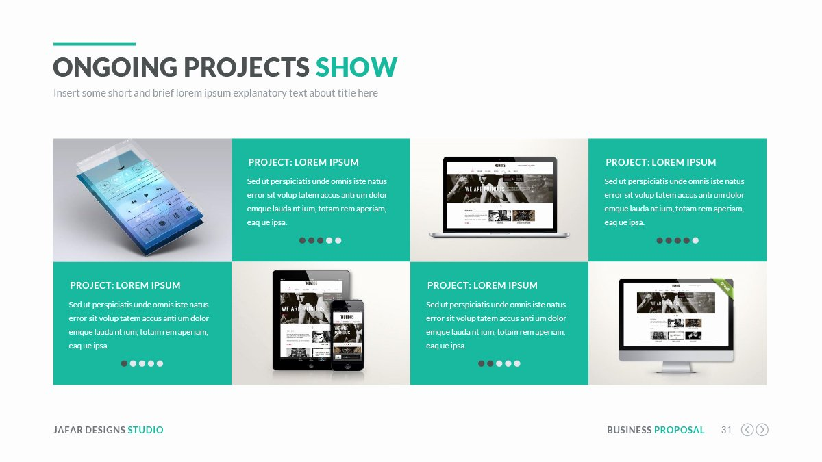 Business Proposal Powerpoint Template Lovely Business Proposal Powerpoint Template by Jafardesigns
