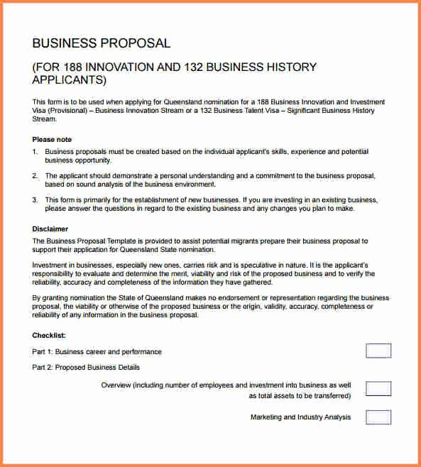 Business Proposal Template Pdf Elegant 6 Sample Of Business Proposal Pdf