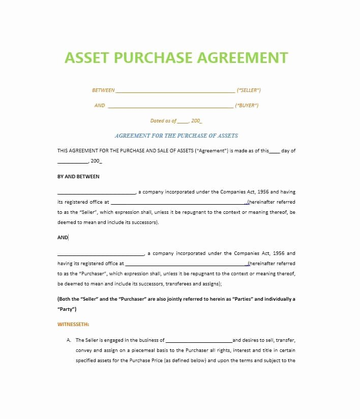 Business Purchase Agreement Template Luxury 37 Simple Purchase Agreement Templates [real Estate Business]