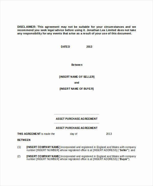 Business Purchase Agreement Template Unique 13 Purchase Contract Templates Word Pdf Google Docs