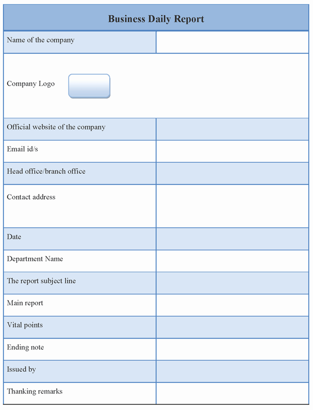 Business Report format Template Inspirational Business Report Template