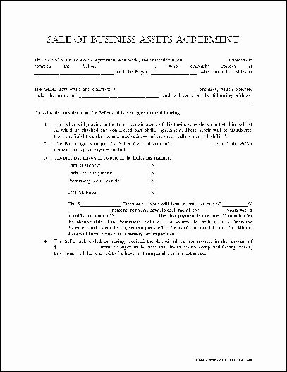 Business Sale Agreement Template New Business Sale Agreement Template Free Download