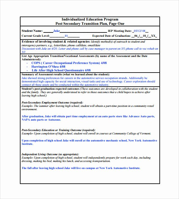 Business Transition Plan Template Beautiful Transition Plan Template 9 Download Documents In Pdf