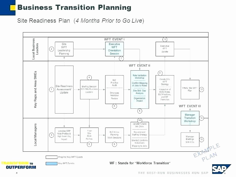 Business Transition Plan Template Elegant Business Transition Plans Examples Business Transition