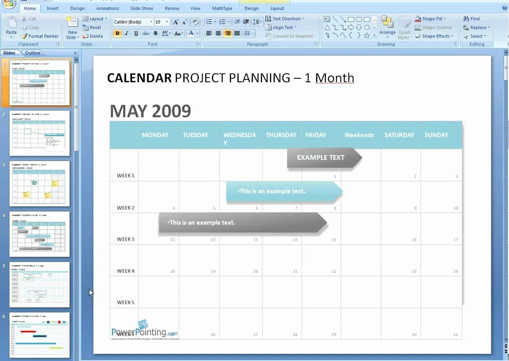 Calendar Template for Powerpoint Luxury How to Edit A Calendar In Powerpoint