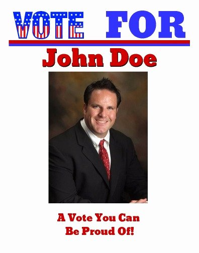 Campaign Flyer Template Free New Political and Election Newspapers Print and Digital