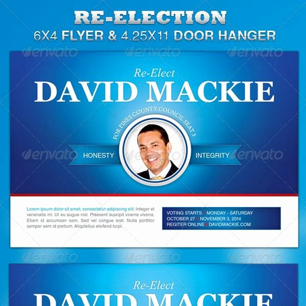 Campaign Flyer Template Free Unique 13 Best Free Political Campaign Flyer Templates Images On
