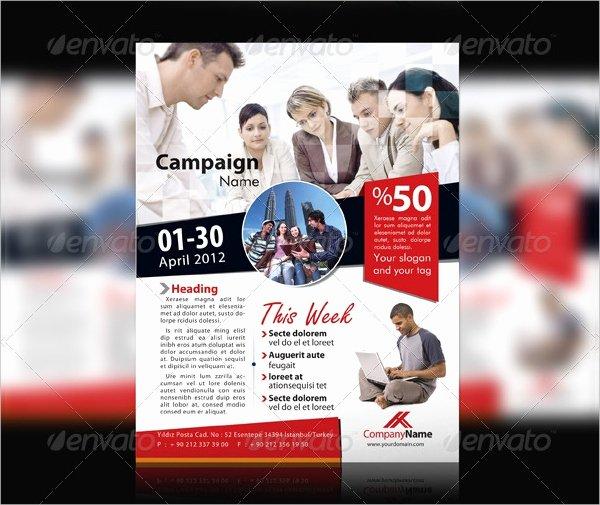 Campaign Flyer Template Free Unique 20 Campaign Designs