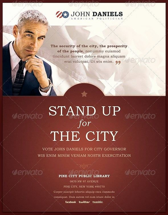 Campaign Poster Template Free Elegant 13 Best Free Political Campaign Flyer Templates Images On