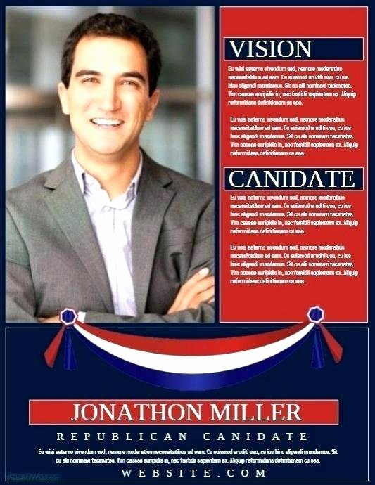 Campaign Poster Template Free Fresh Best Political Flyer Print Templates Template Election