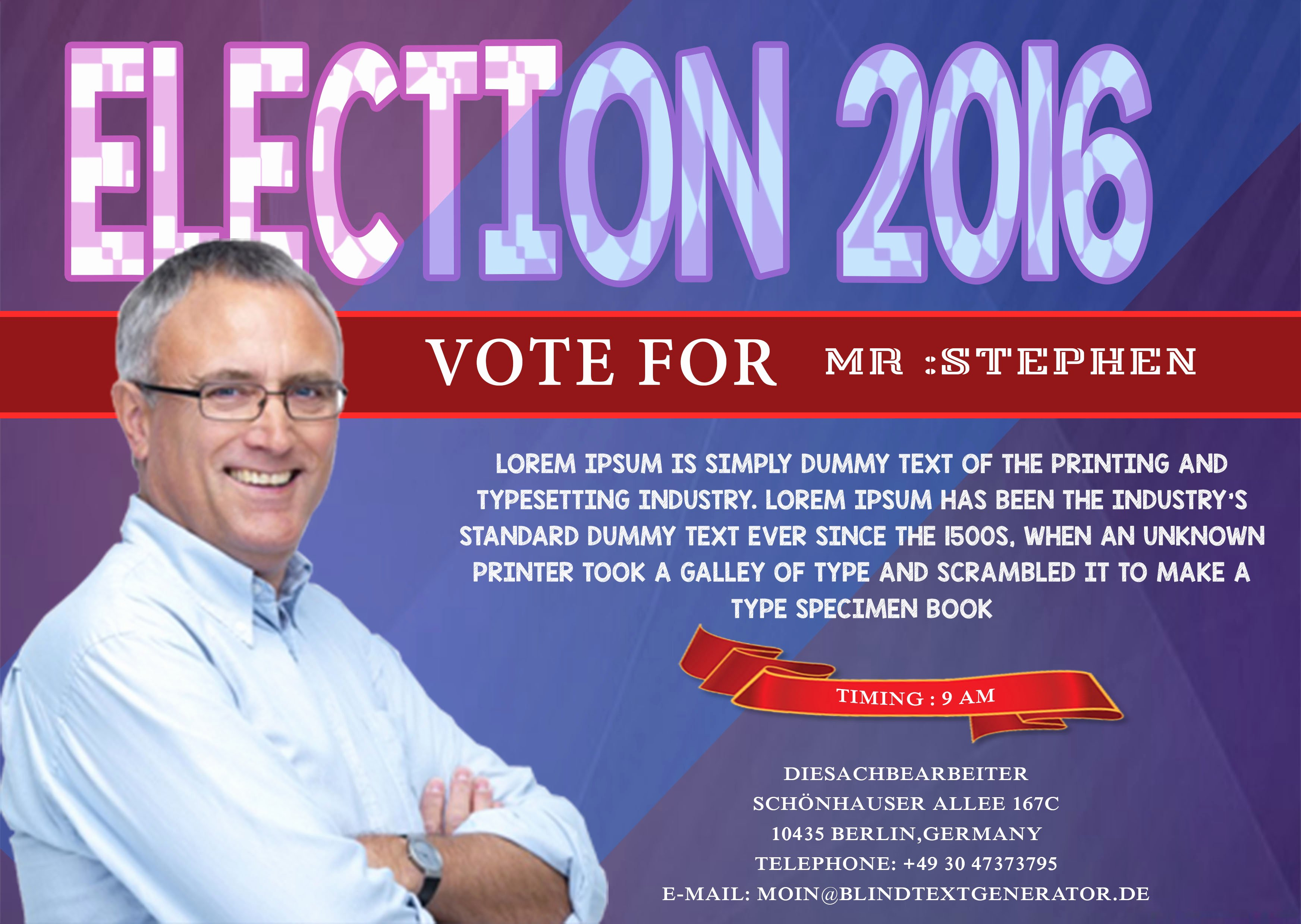 Campaign Poster Template Free New Campaign with these Elegant Free Political Campaign Flyer