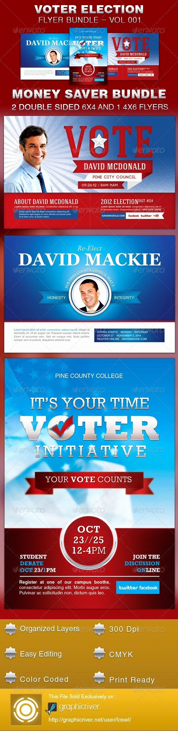 Campaign Poster Template Free New Quality Graph Election Flyers Templates Free