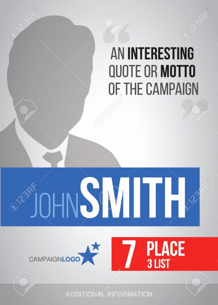 Campaign Poster Template Free Unique Poster Campaign Poster Template