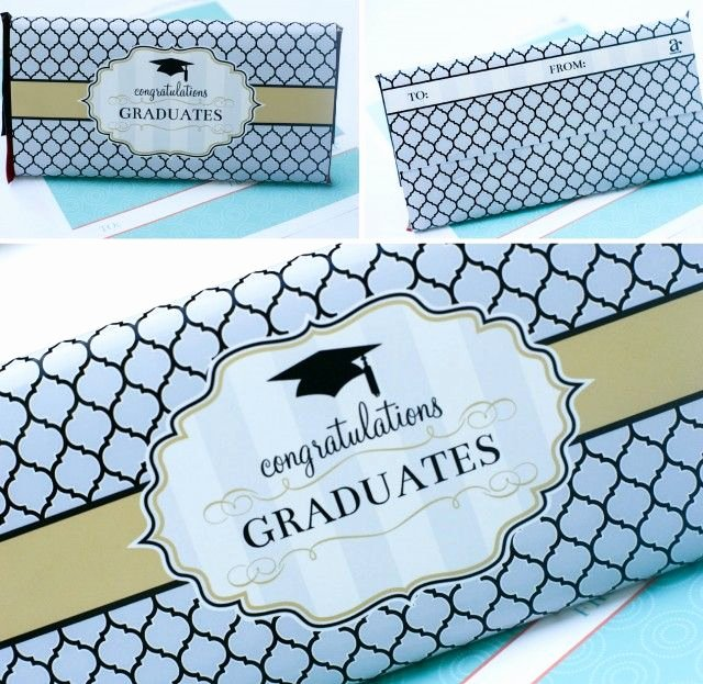Candy Bar Label Template Fresh Graduation Printables and Gift Ideas