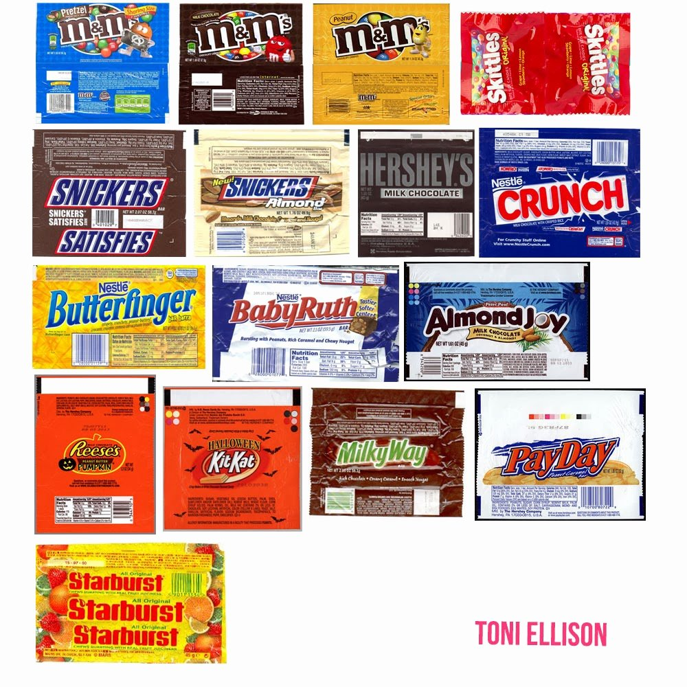 Candy Bar Label Template Inspirational toni Ellison Halloween Candy Wrapper Templates