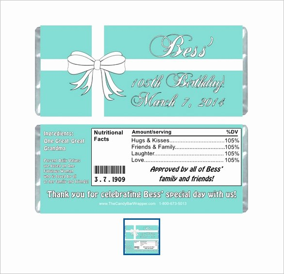 Candy Bar Wrapper Template Elegant 35 Candy Bar Wrapper Templates – Free Word Pdf Psd Eps