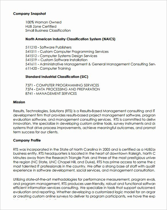 Capability Statement Template Free Best Of 15 Capability Statement Templates – Pdf Word Pages
