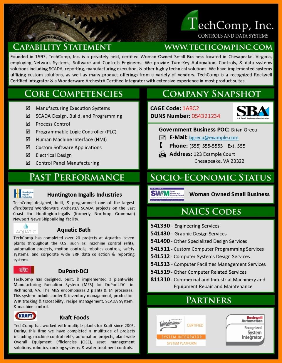 Capability Statement Template Word Awesome Free Capability Statement Template Australia format Design