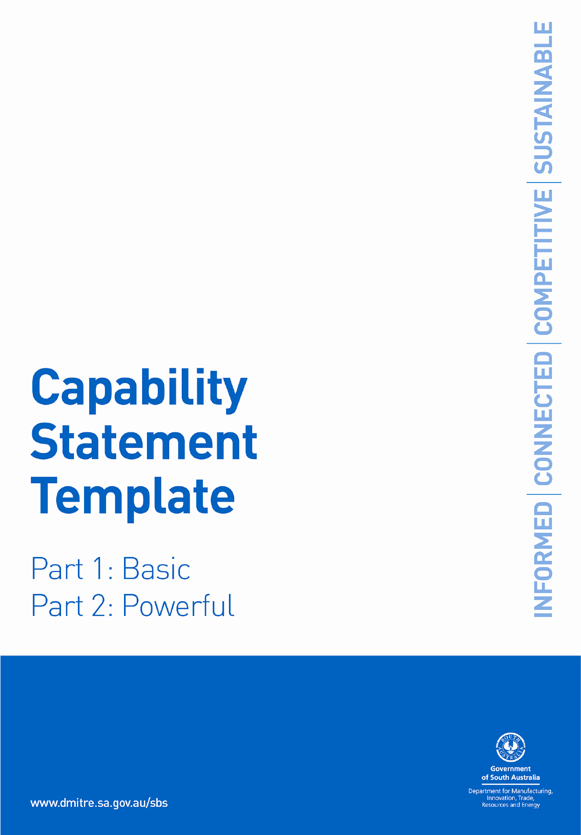 Capability Statement Template Word Fresh Capability Statement Template In Word and Pdf formats