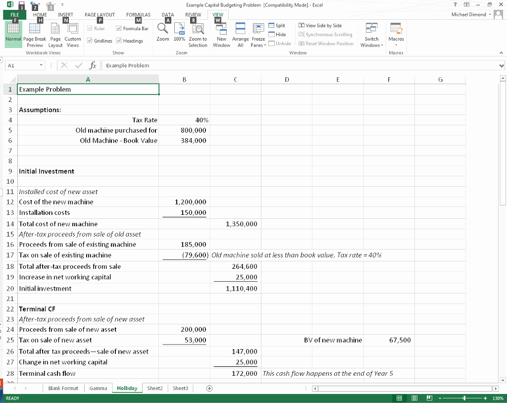 Capital Budget Template Excel Luxury solved Capital Bud Ing Spreadsheet Project Introduction