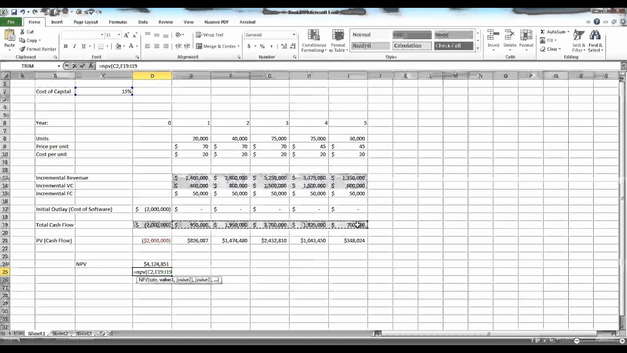 Capital Budget Template Excel New Capital Bud Ing In Excel Example