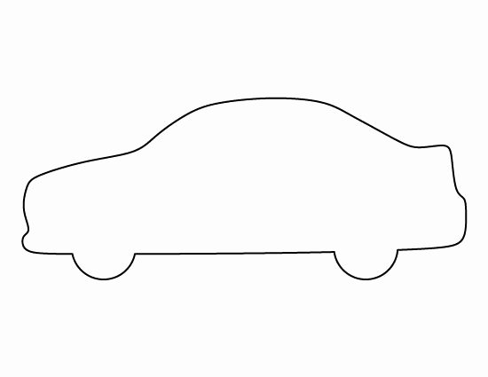 Car Cut Out Template Fresh Car Pattern Use the Printable Outline for Crafts