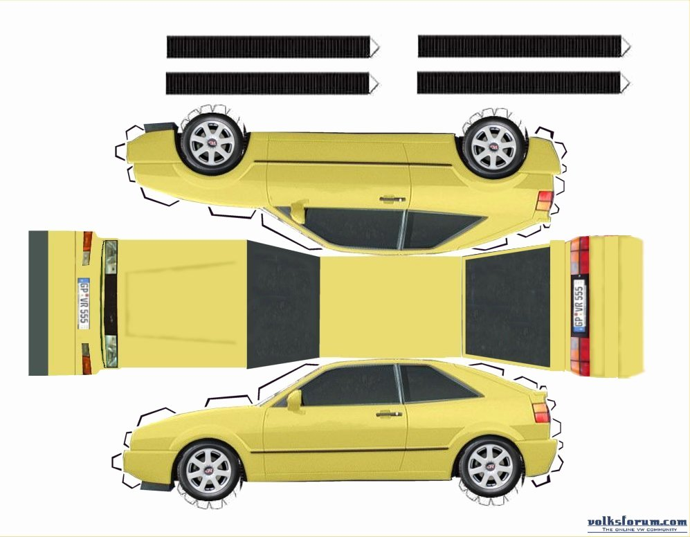 Car Cut Out Template Inspirational Paper Car Template Search Results