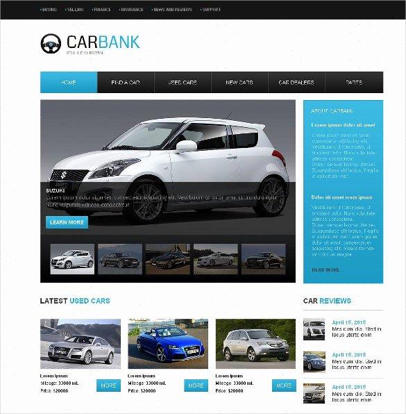Car Dealer Website Template Best Of 28 Car Dealer Website themes & Templates