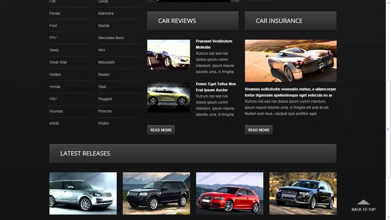 Car Dealer Website Template Inspirational Used Car Dealer Website Template