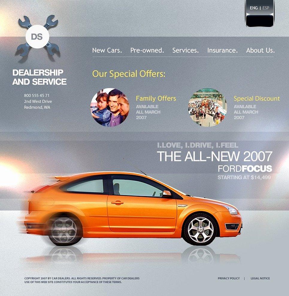 Car Dealer Website Template Lovely Car Dealer Website Template by Wt Website Templates