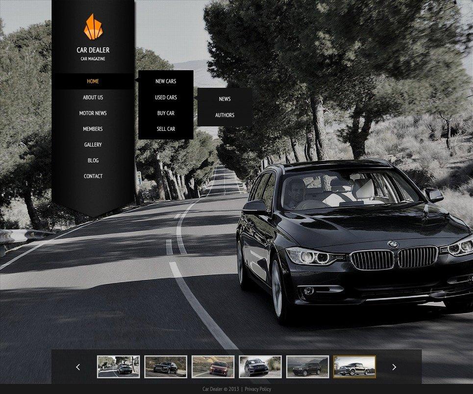 Car Dealer Website Template Lovely Car Dealer Website Template