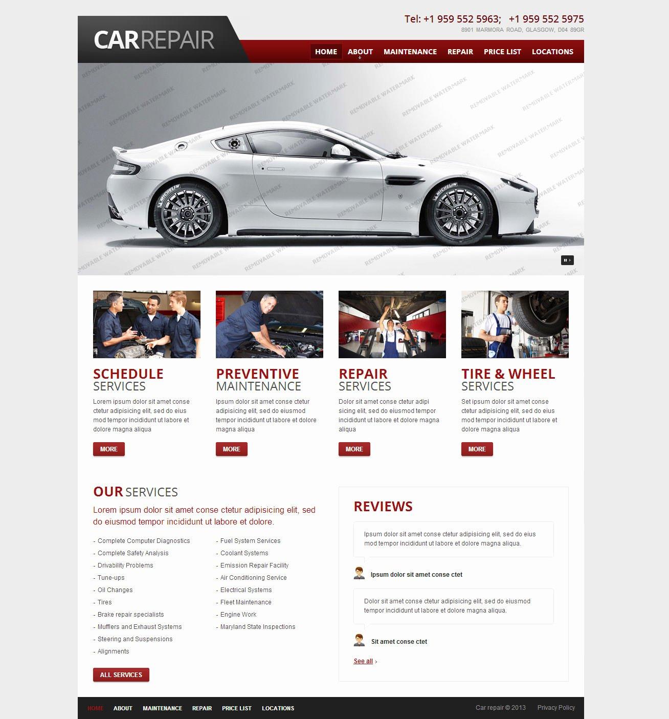 Car Dealer Website Template Unique 22 Best Premium Car Website Templates