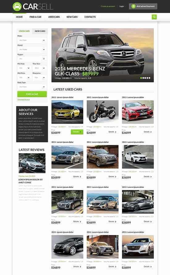 Car Dealer Website Template Unique 70 Best Car Auto Website Templates Free & Premium