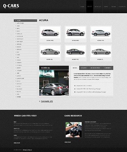 Car Dealer Website Template Unique Car Dealer Website Template