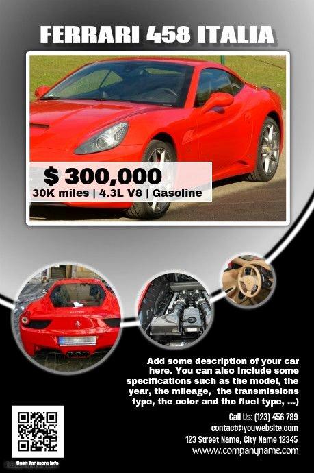 Car for Sale Template Elegant 41 Best Images About Car Dealer Flyer Diy On Pinterest